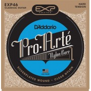 D'Addario EXP 46 Cuerdas de guitarra clásica Hard Tension