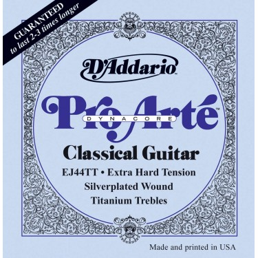 D'Addario EJ44TT Pro-Arté DynaCore Classical guitar strings Extra Hard Tension