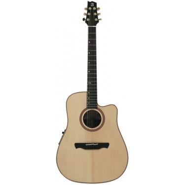 Alhambra W3 AB CW E5 Guitare acoustique électro
