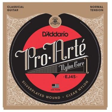 D'Addario EJ 45 Classical guitar strings Normal Tension