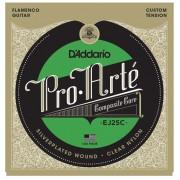 D'Addario EJ25C Pro-Arté Clear Nylon. Cuerdas de Guitarra Flamenca