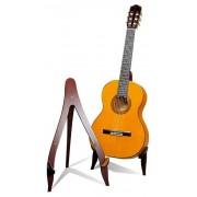 Soporte de guitarra clásica de madera HM EG-23