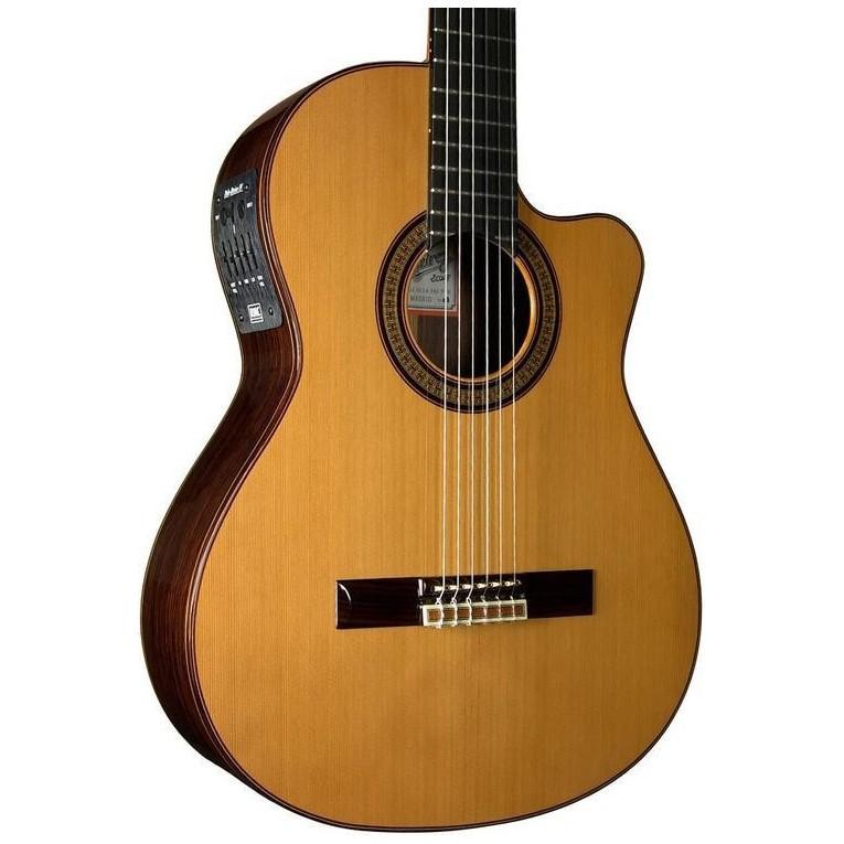 ramirez 2ncwe midi classical guitar best prices for ramirez guitars. Black Bedroom Furniture Sets. Home Design Ideas