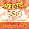La Bella Flamenco Saitensatz 820 Red Nylon