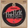 D'Addario EJ49 Pro-Arté Black Nylon, Tension Normale. Cordes de guitare classique