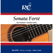 Royal Classics SF70 cordes de guitare classique - Tension Forte