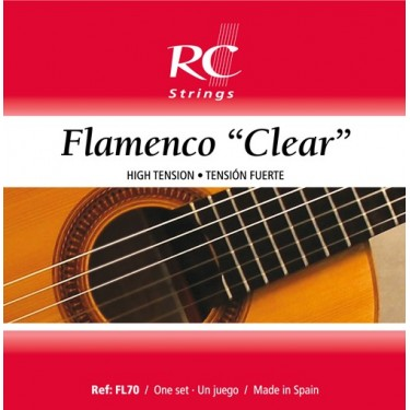 Royal Classics FL70 cordes de guitare flamenco - Tension Haute