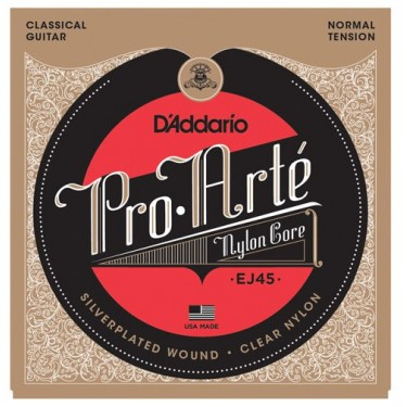D'Addario EJ 45 Cuerdas de guitarra clásica Normal Tension
