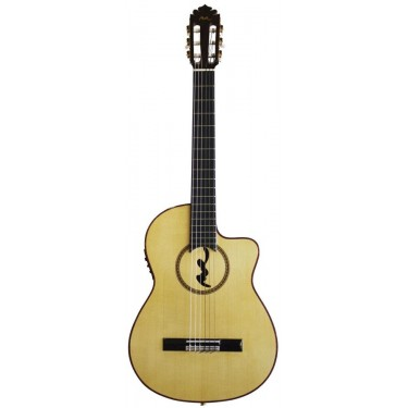 Manuel Rodriguez FF CUT BOCA MR Guitarra flamenca electrificada