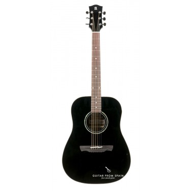Alhambra Appalachian W100B Black Acoustic Guitar