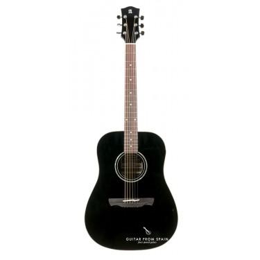 Alhambra Appalachian W100B Black Guitarra acustica