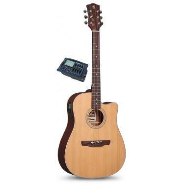Alhambra Appalachian W100 CW OP E7 Guitarra electro acustica