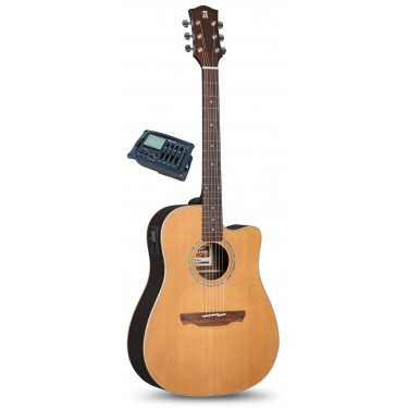 Alhambra Appalachian W300 CW OP E7 Guitare acoustique electro