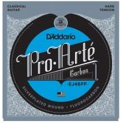 D'Addario EJ 46 FF Cuerdas de guitarra clásica Tension Fuerte