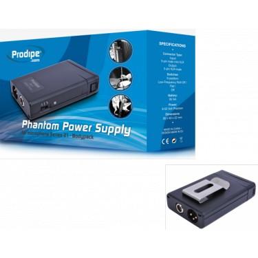 Prodipe BP21 Boitier batterie/48 volts pour micros instrument Série 21