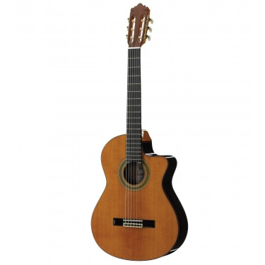 Ramirez 2NCWE Cedar PRO-BLEND Electro-Classical Guitar