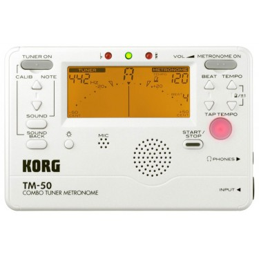 Korg TM50 Metrónomo y Afinador