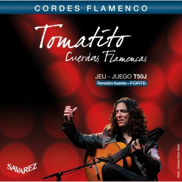 Flamenco strings Savarez Tomatito T50J High Tension