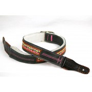 guitar strap Paco Lopez PLE-02 for acoustic and electric guitar