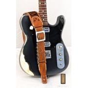Sangle de guitare Paco Lopez PLE-10 pour guitare acoustique et électrique