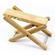 Banquito apoya pié de madera Cibeles C800.225W