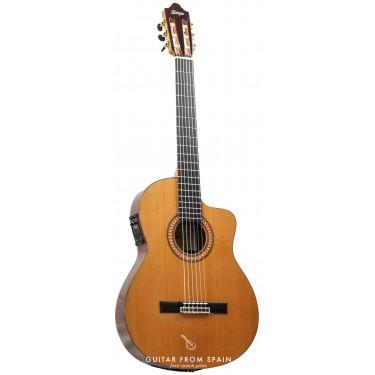Camps NAC2 Guitarra clasica electrificada caja estrecha