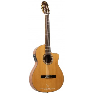 Prudencio Saez 52 Elektro Klassische Gitarre