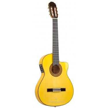 Raimundo 646E Caja Estrecha. Guitarra flamenca Electrificada