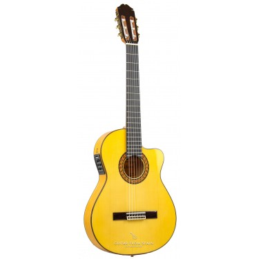 Raimundo 646E Thin Body. Flamenco Gitarre Elektro