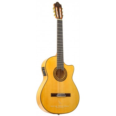 Camps FL11C Guitarra Flamenca electrificada