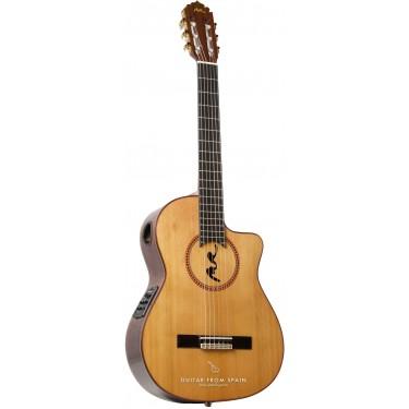 Manuel Rodriguez B CUT Boca MR Guitare classique électro