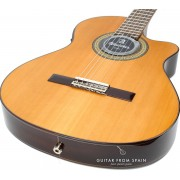 Alhambra 3CCTE1 Electro-classical guitar narrow body