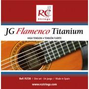 Royal Classics FLT30 Flamenco Titanium guitar strings - High Tension