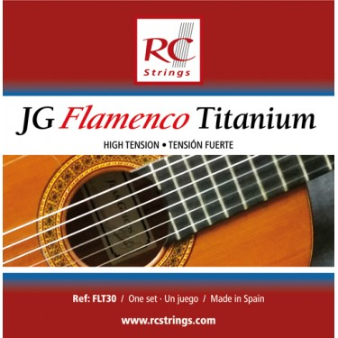 Royal Classics FLT30 Flamenco Titanium guitar strings - Tensión Fuerte