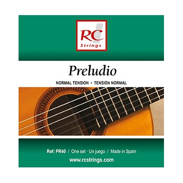 Royal Classics Preludio cordes de guitare classique et flamenco - Tension Normale