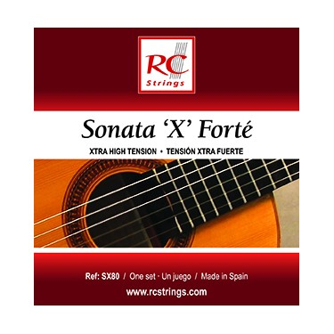 Royal Classics Sonata X Forte Classical guitar strings - Extra hard Tension