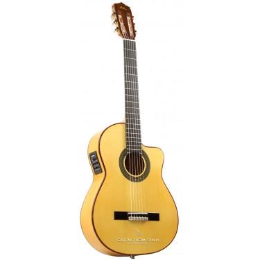 Manuel Rodriguez FF CUTAWAY SABICAS Guitarra flamenca electrificada