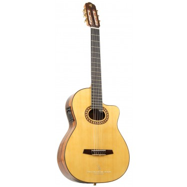 Prudencio Saez 7CW (90) Guitare Electro Classique