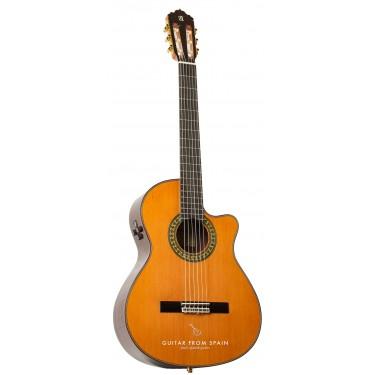 Alhambra 5PCW E8 Guitarra Electro Clásica