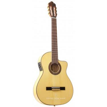 Raimundo 630E Thin Body Elektro Klassische Gitarre