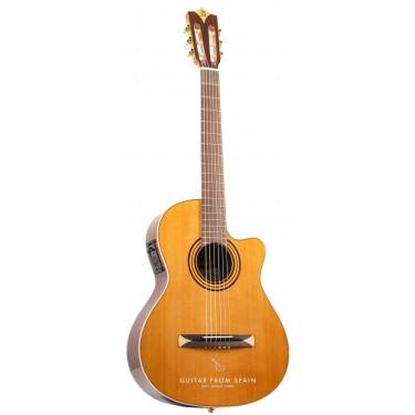 Alhambra Crossover CS1CW E1 Guitare Classique Électro