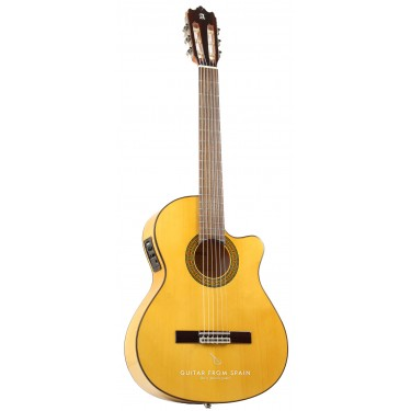 Alhambra 3FCWE1 Electroacoustic Flamenco guitar