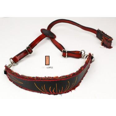 Classical and flamenco guitar strap Paco Lopez PLC22