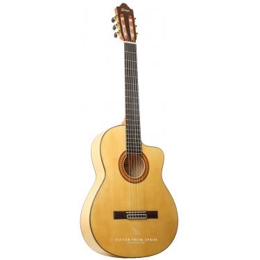 Camps MC5 flamenco guitare avec cutaway