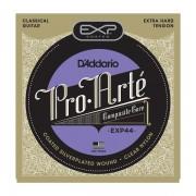 D'Addario EXP 44 Cuerdas de guitarra clásica Extra Hard Tension
