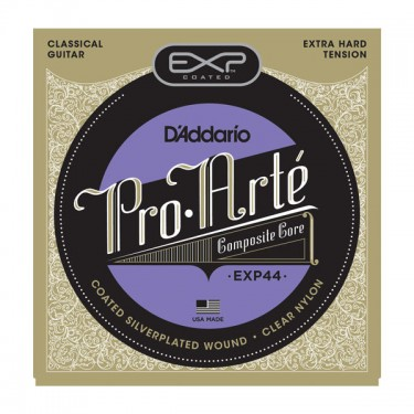 D'Addario EXP 44 Cordes de guitare classique Extra Hard Tension