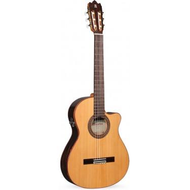 Alhambra Iberia Ziricote CTW E8 Guitarra Electro-clásica Caja estrecha