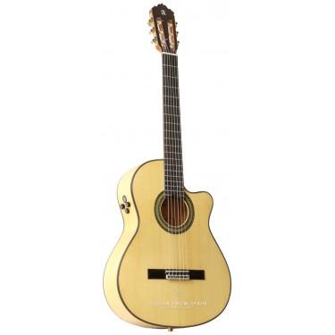 Alhambra 7FCCW E8 Flamenco Gitarre Elektro