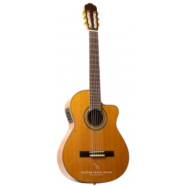 Raimundo 610E Elektro Klassische Gitarre