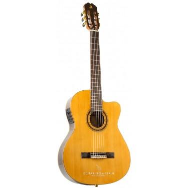 Admira VIRTUOSO ECT-F guitarra Electro clásica Caja Estrecha